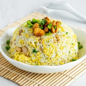 Fried Rice With Chicken Cubes/鸡丁炒饭